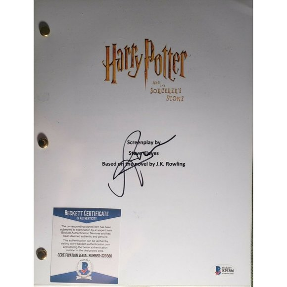 RUPERT GRINT SIGNED THE SORCERERS STONE AUTOGRAPH